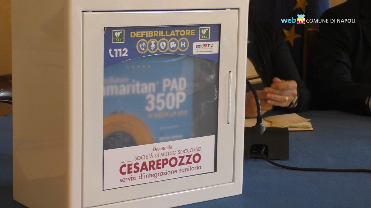 Defibrillatori nelle scuole per l'infanzia a Napoli