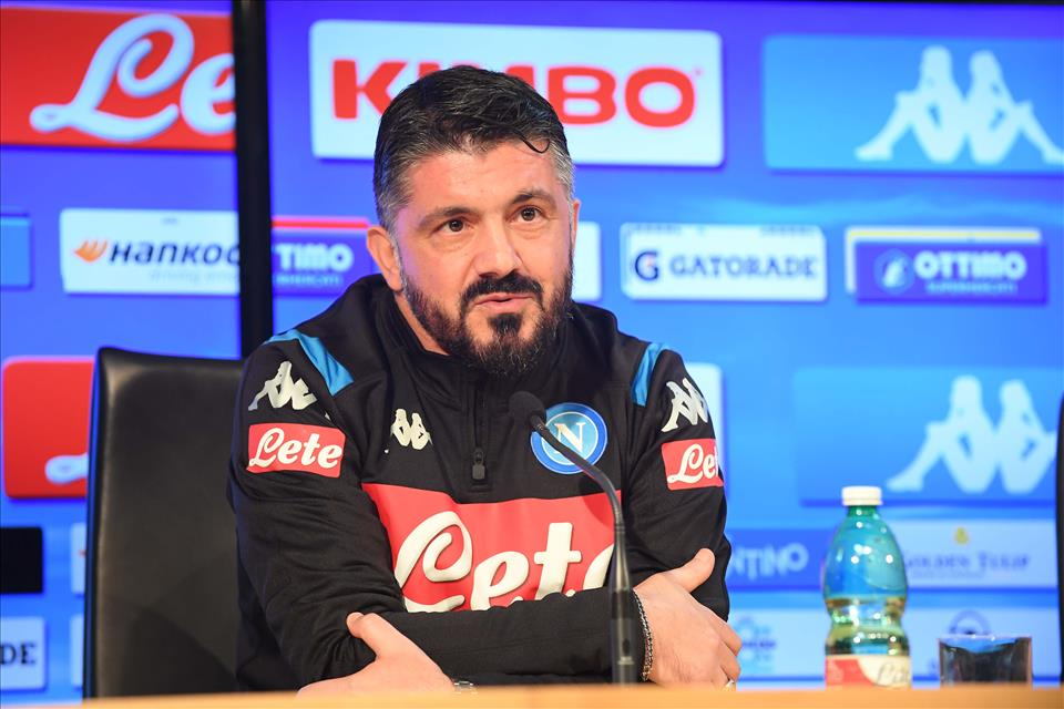 """Cagliari-Napoli, Gattuso: """"Allan fuori dai convocati perché non si è allenato come voglio"""""""