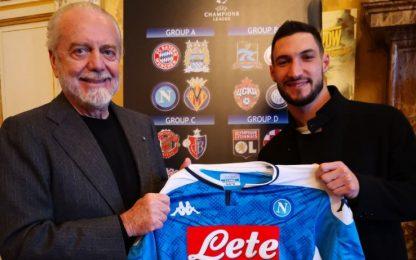 E' ufficiale: Matteo Politano è un calciatore del Napoli