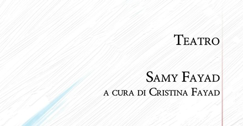 "Al Teatro Diana si presenta ""Teatro"" di Samy Fayad"