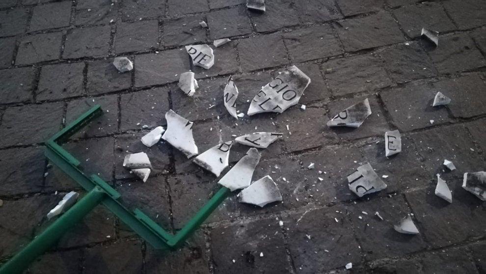 Roma, distrutta la targa di Welby a piazza Don Bosco