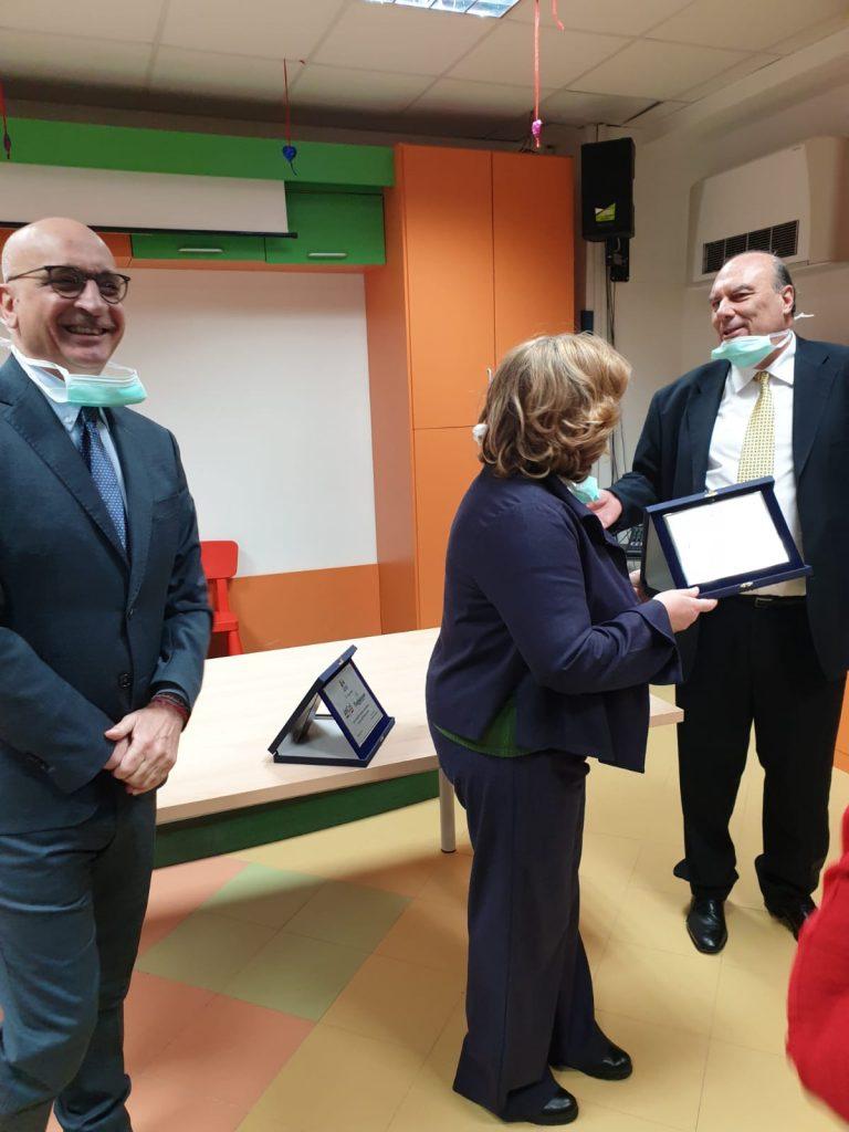 Ospedale Pausilipon, donato un ecografo di ultima generazione da Ancos-Confartigianato