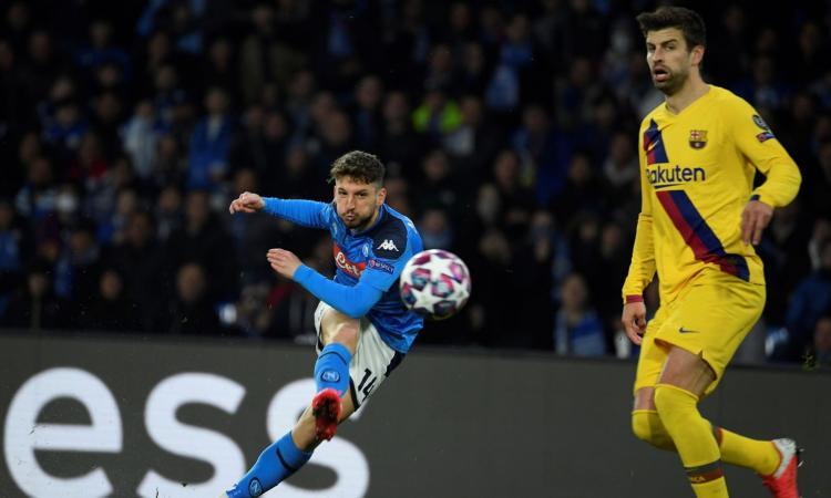Champions League, ufficiale il rinvio di Barcellona-Napoli