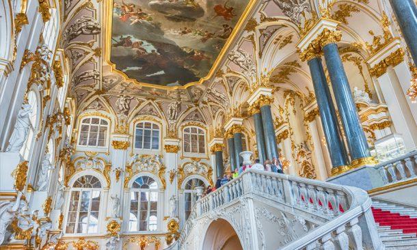 Una visita guidata online dell'Ermitage di San Pietroburgo in italiano