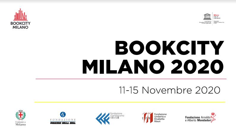 Dall'11 al 15 novembre 2020 la nona edizione di Bookcity Milano