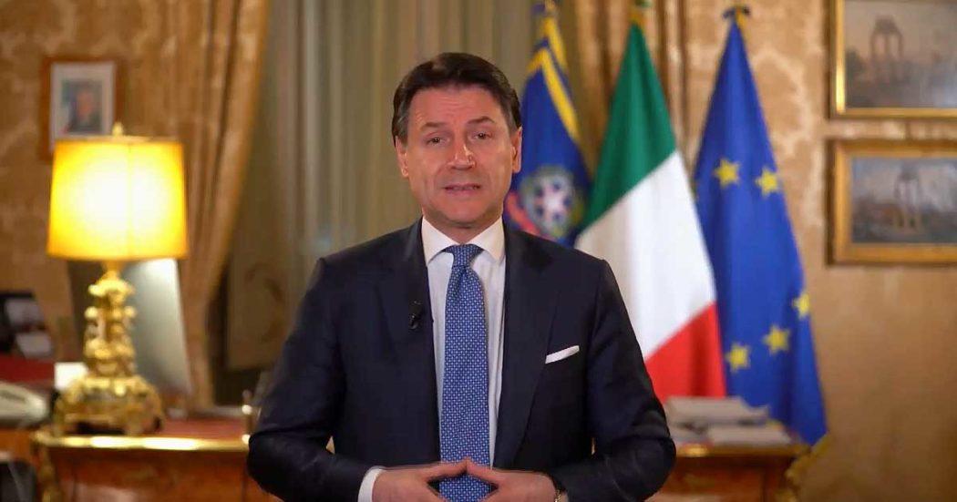 """Coronavirus, l'annuncio di Conte: """"Tutta Italia sarà zona protetta"""""""