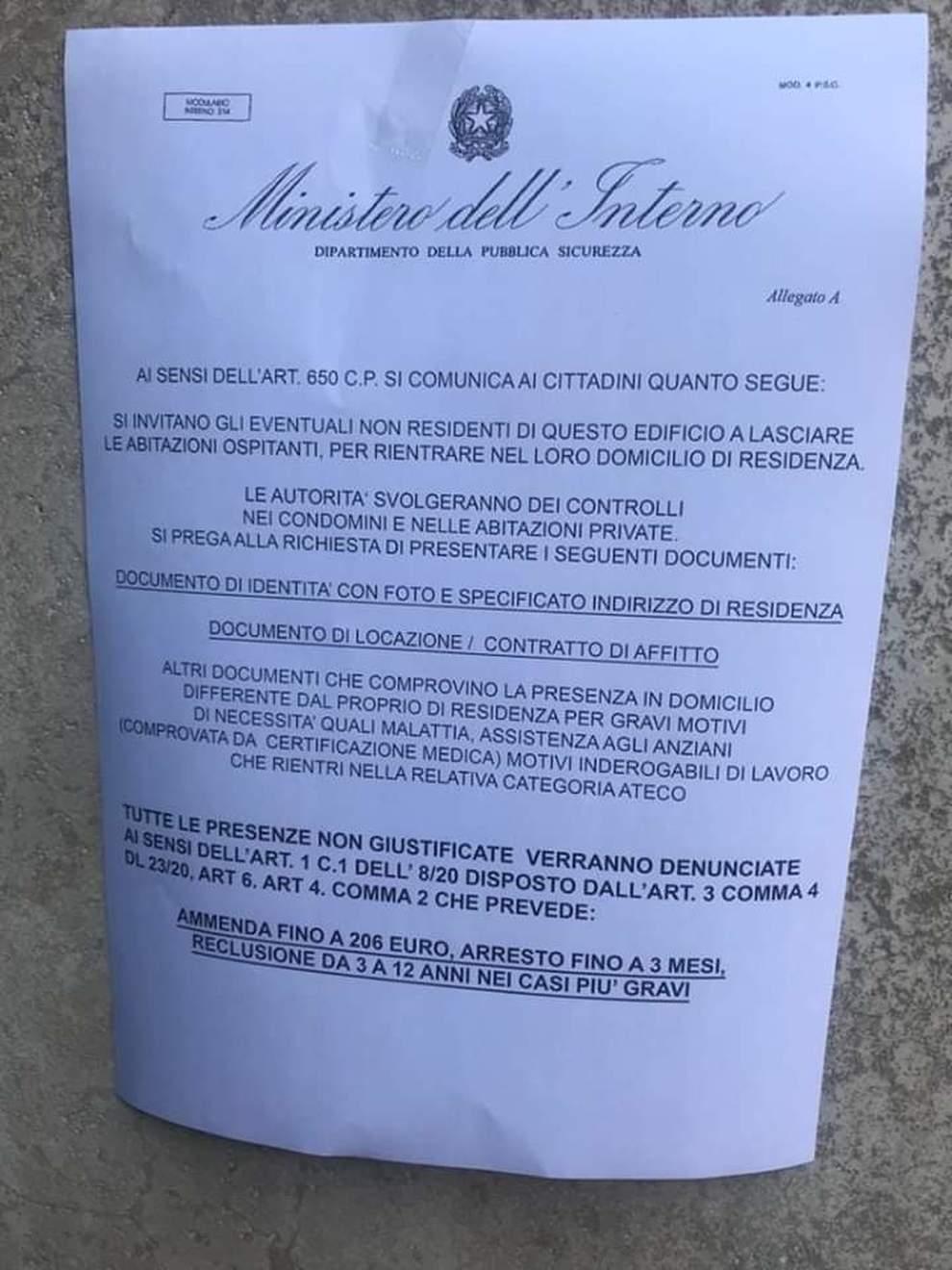 """Falsi annunci di controlli nelle case a Napoli, la Questura: """"Non aprite agli sconosciuti"""""""