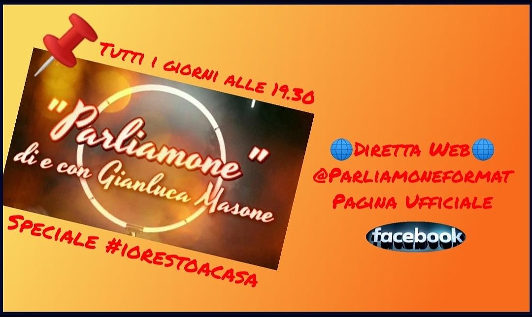 """Gianluca Masone in diretta web con """"Parliamone"""" e """"Mezz'ora con lo scrittore"""""""