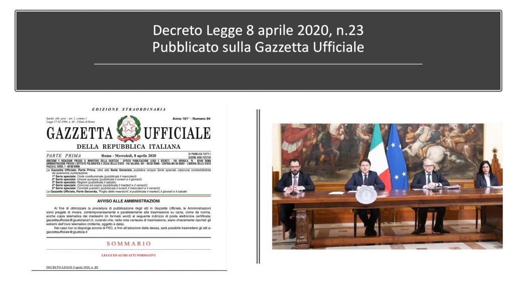 Cosa cambia per l'attività degli avvocati con il Decreto n.23/2020