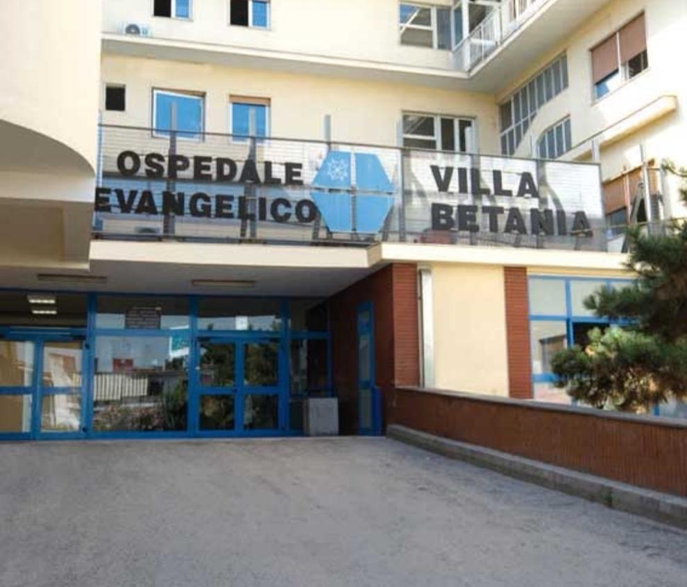 L'Ospedale Evangelico Betania entra nella rete regionale Covid