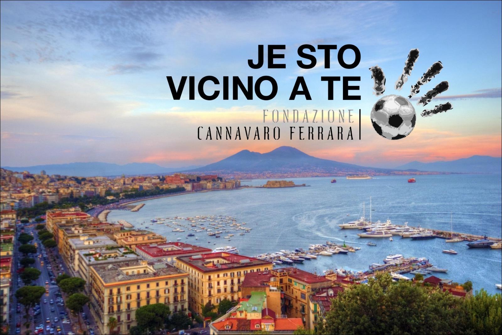 Je sto vicino a te: i campioni uniti per Napoli raccolgono quasi 90mila euro