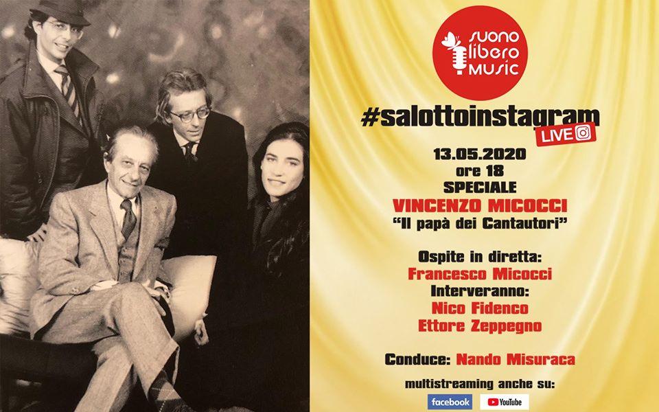 """#SalottoInstagram: speciale Vincenzo Micocci, """"il papà dei cantautori"""""""