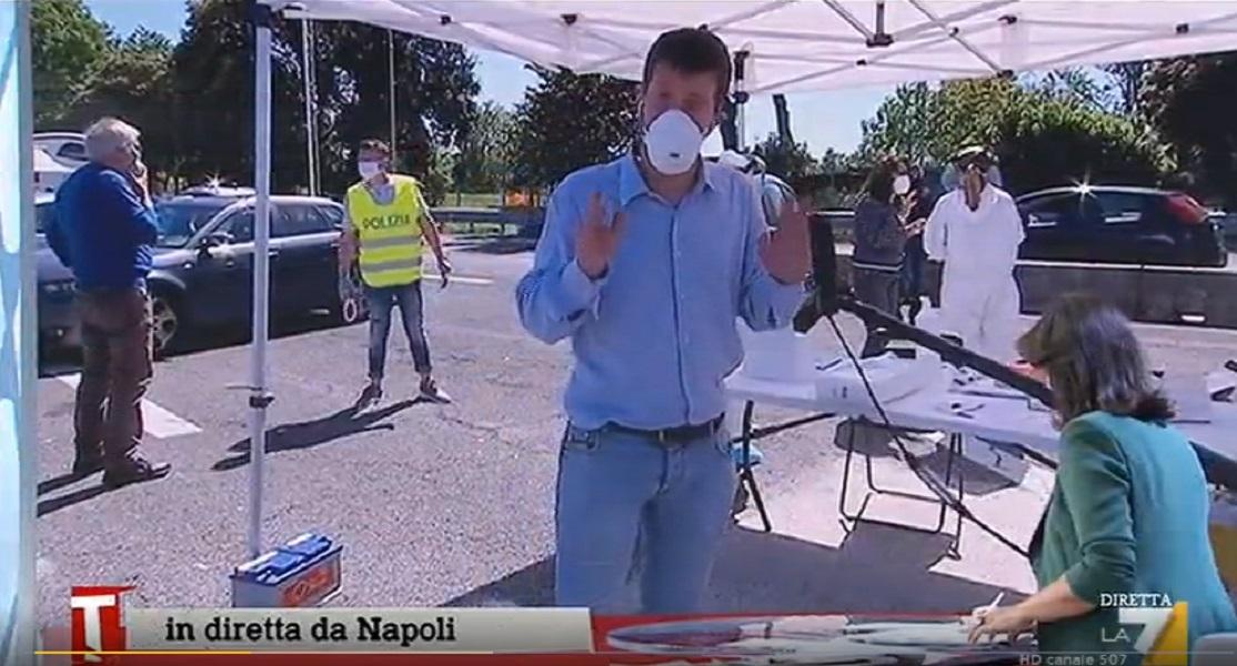 Coronavirus, alla barriera di Napoli 14 positivi al test rapido su 60