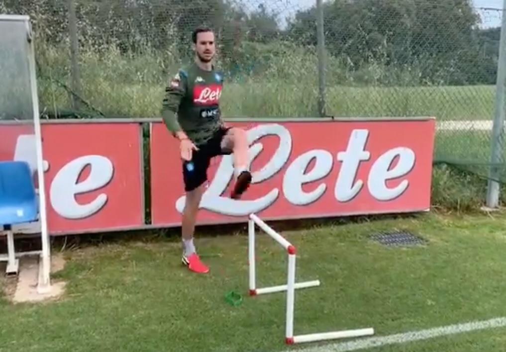 Il Napoli torna in campo: è il giorno della ripresa degli allenamenti
