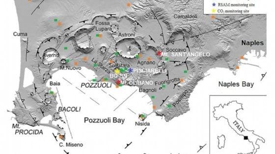 Campi Flegrei, radon aiuta a monitorare l'attività del supervulcano