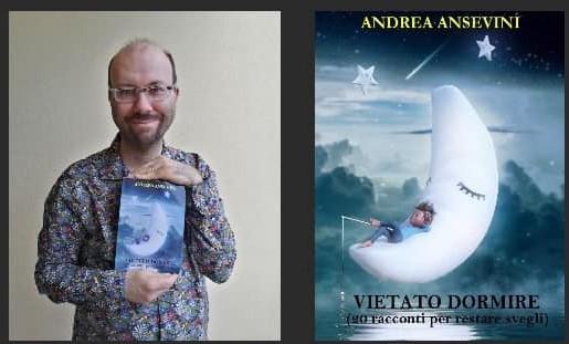 """""""Vietato dormire"""", intervista all'autore del libro Andrea Ansevini"""