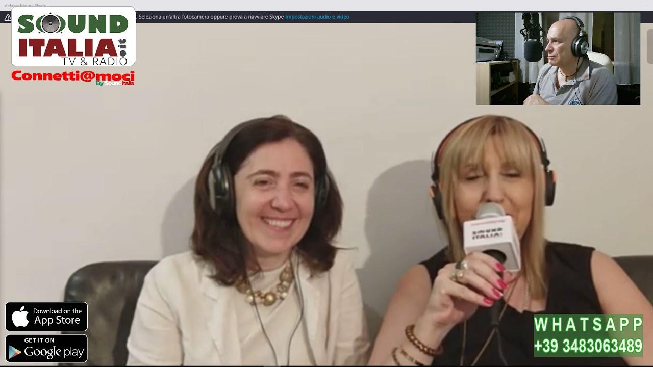 """""""CONNETTI@MOCI"""", SU SOUND ITALIA TV WEB RADIO STEFANIA BENNI E LE TEMATICHE SOCIALI"""