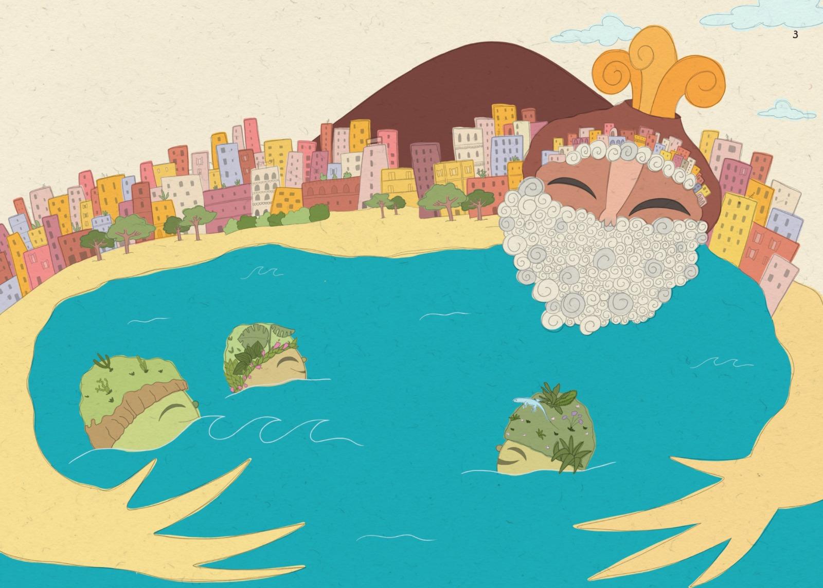 """Libri, """"Le Isole Sorelle"""": viaggio nel Golfo di Napoli raccontato nella favola moderna per bambini"""