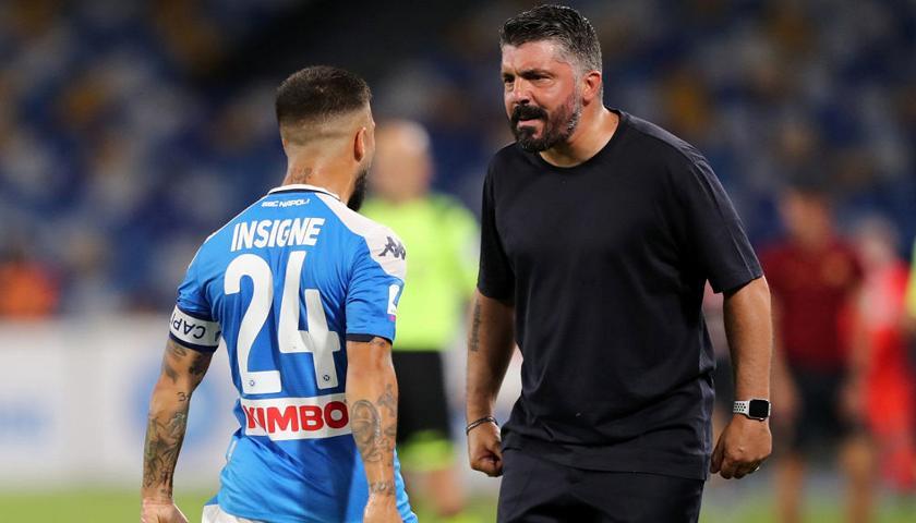 Napoli-Roma 2-1, operazione aggancio riuscita: azzurri al quinto posto con Callejon e la magia di Insigne