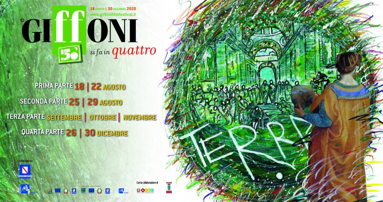 Giffoni, un programma in quattro tranche per la 50esima edizione