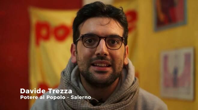 """Cava de' Tirreni, Davide Trezza sarà il candidato sindaco di """"Potere al Popolo"""""""