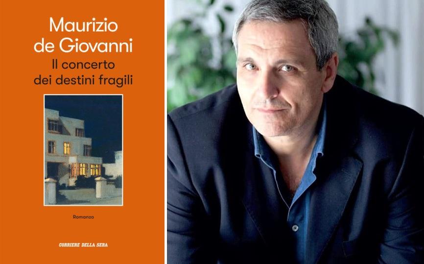 Il 6 agosto in edicola con il Corriere della Sera il nuovo romanzo di Maurizio de Giovanni