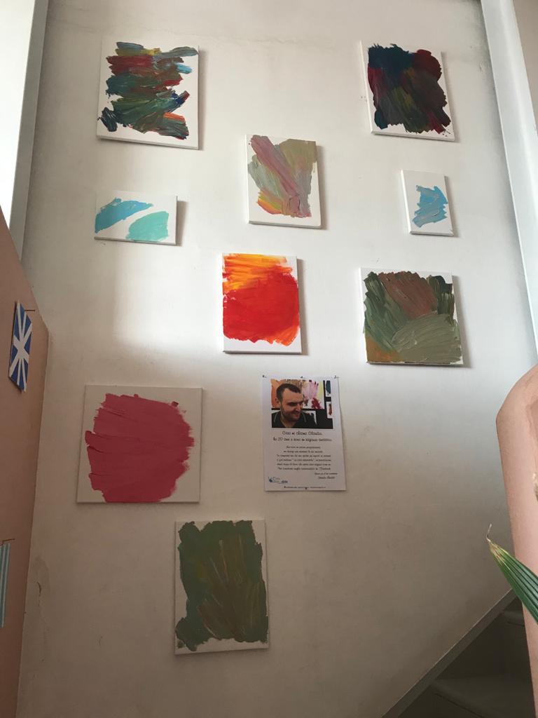 I quadri di Claudio Rinaldi in mostra a Procida