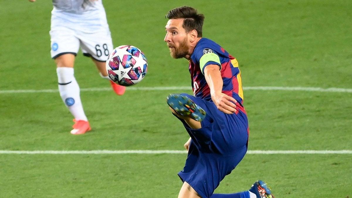 Barcellona-Napoli 3-1: troppo Messi, azzurri fuori dalla Champions