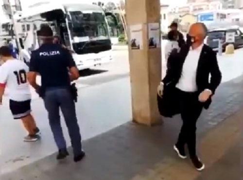 L'Atalanta e il team manager Moioli tornano a scusarsi con il tifoso del Napoli insultato