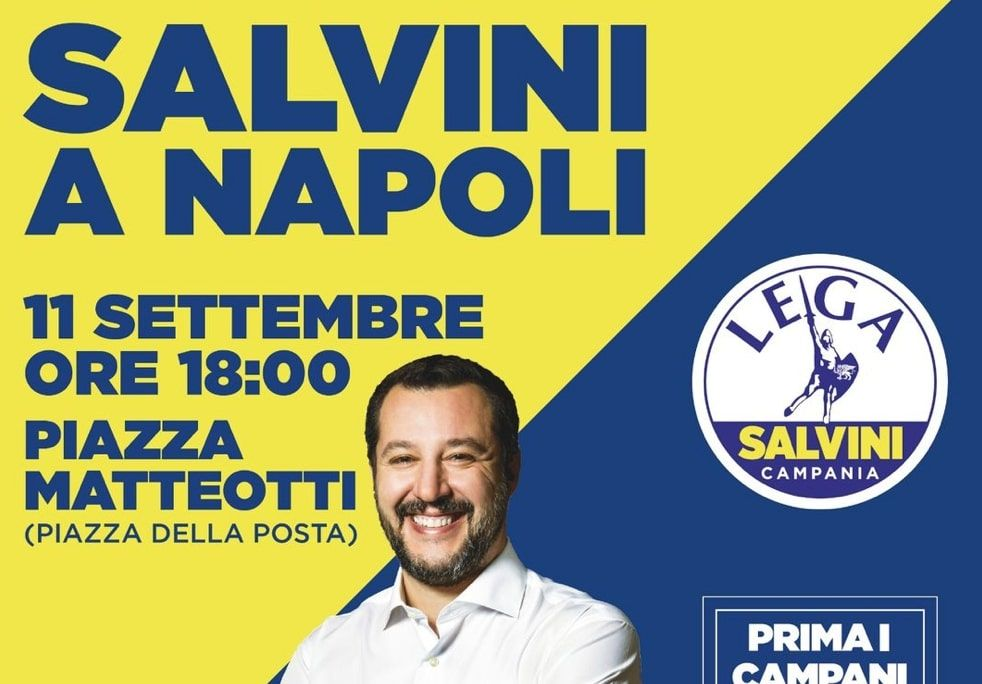 Per il revisionista Salvini piazza Matteotti diventa piazza della Posta