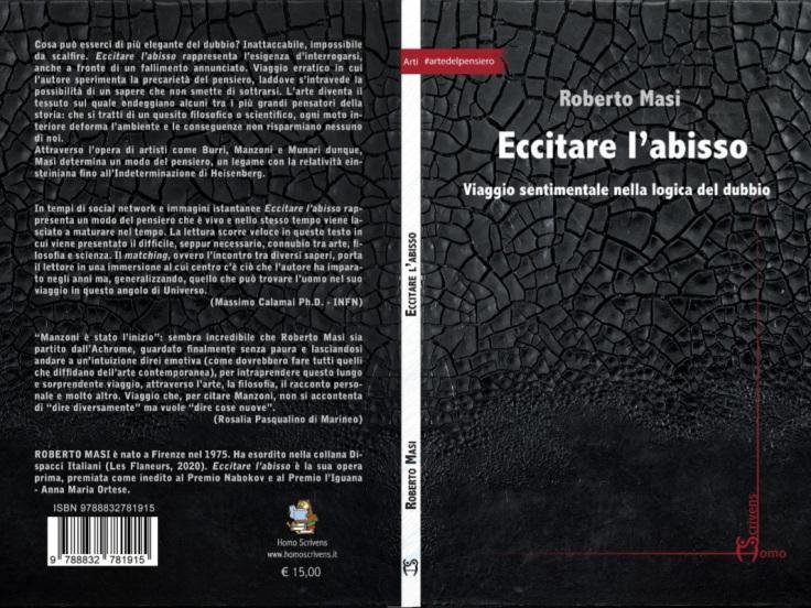 """""""Eccitare l'abisso"""", il libro-viaggio di Roberto Masi"""