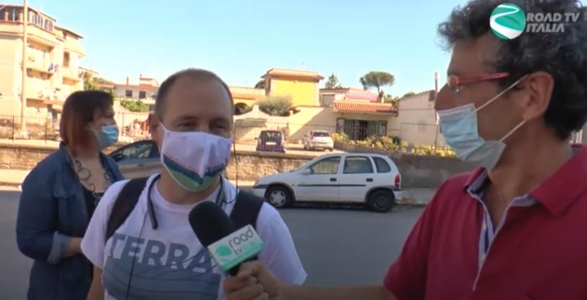 """On the road con il candidato presidente della lista """"Terra"""" Luca Saltalamacchia (VIDEO)"""