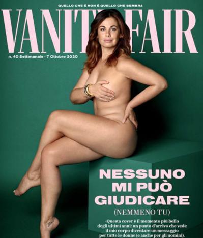 Vanessa Incontrada nuda su Vanity Fair contro haters e bullismo