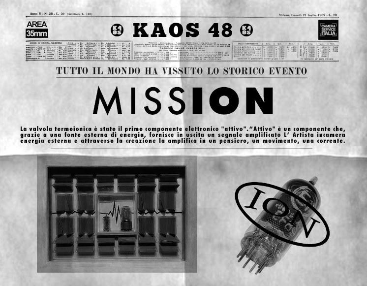 Kaos48 annuncia MISSION, la terza mostra virtuale a tema COVID