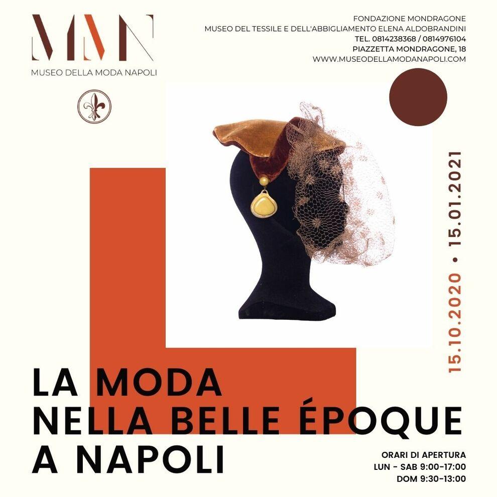 La moda nella Belle Époque in mostra a Napoli