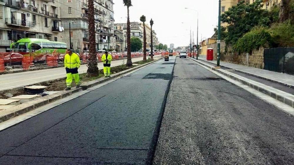 Napoli, entro il 15 novembre la conclusione dei lavori in via Marina