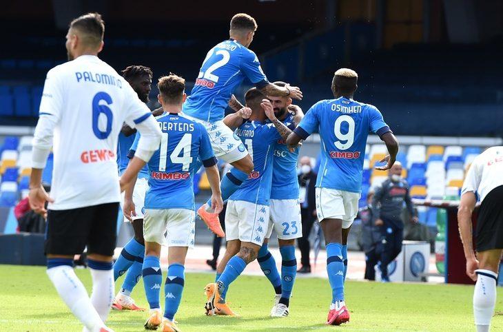 Napoli-Atalanta 4-1: azzurri da impazzire, lezione di Gattuso a Gasperini