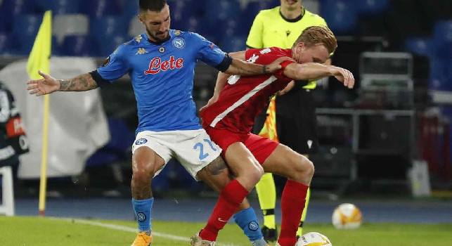 Napoli- Az Alkmaar 0-1, ko casalingo nel debutto europeo per gli azzurri