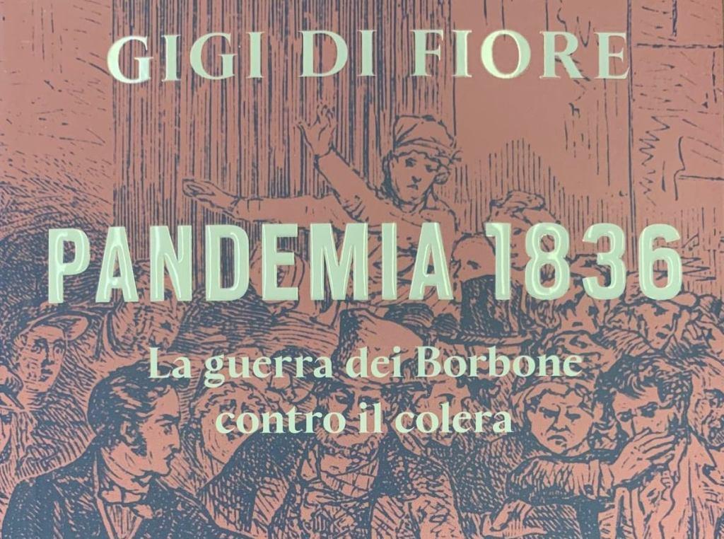 """""""Pandemia 1836"""", sabato 3 ottobre presentazione del libro di Gigi Di Fiore al Teatro Diana"""