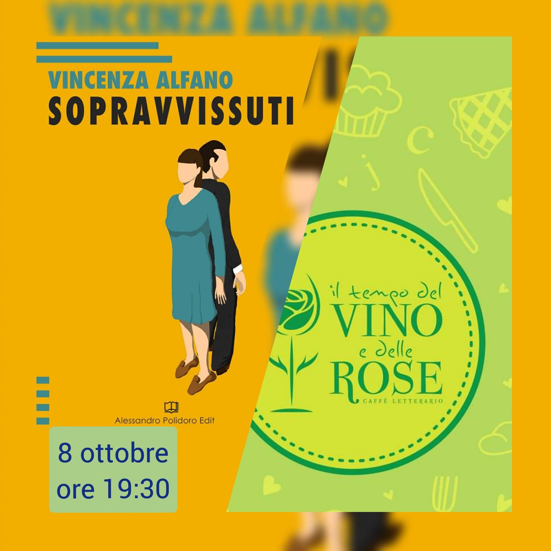 """""""Sopravvissuti"""", giovedì 8 ottobre presentazione a Il tempo del vino e delle rose"""
