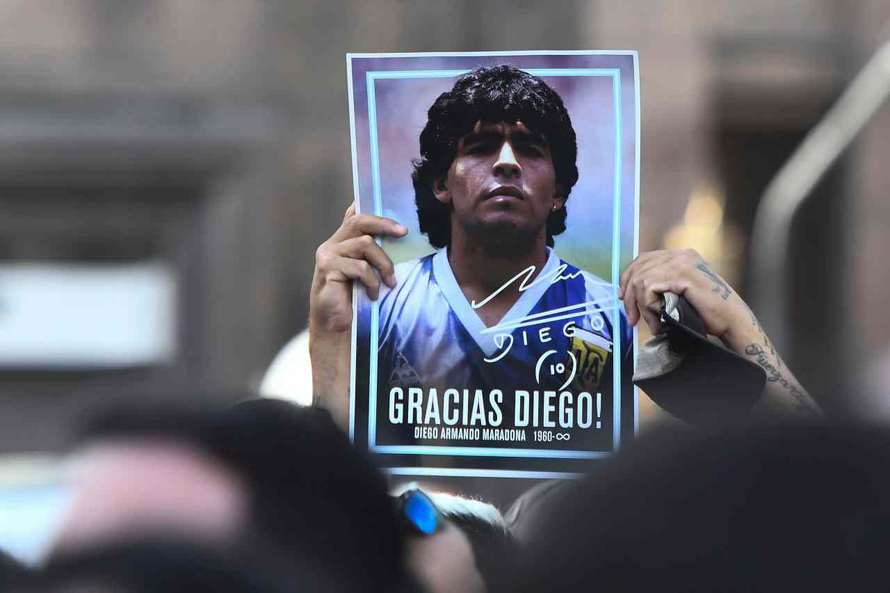 Argentinians Hold Massive Funeral For Diego Maradona