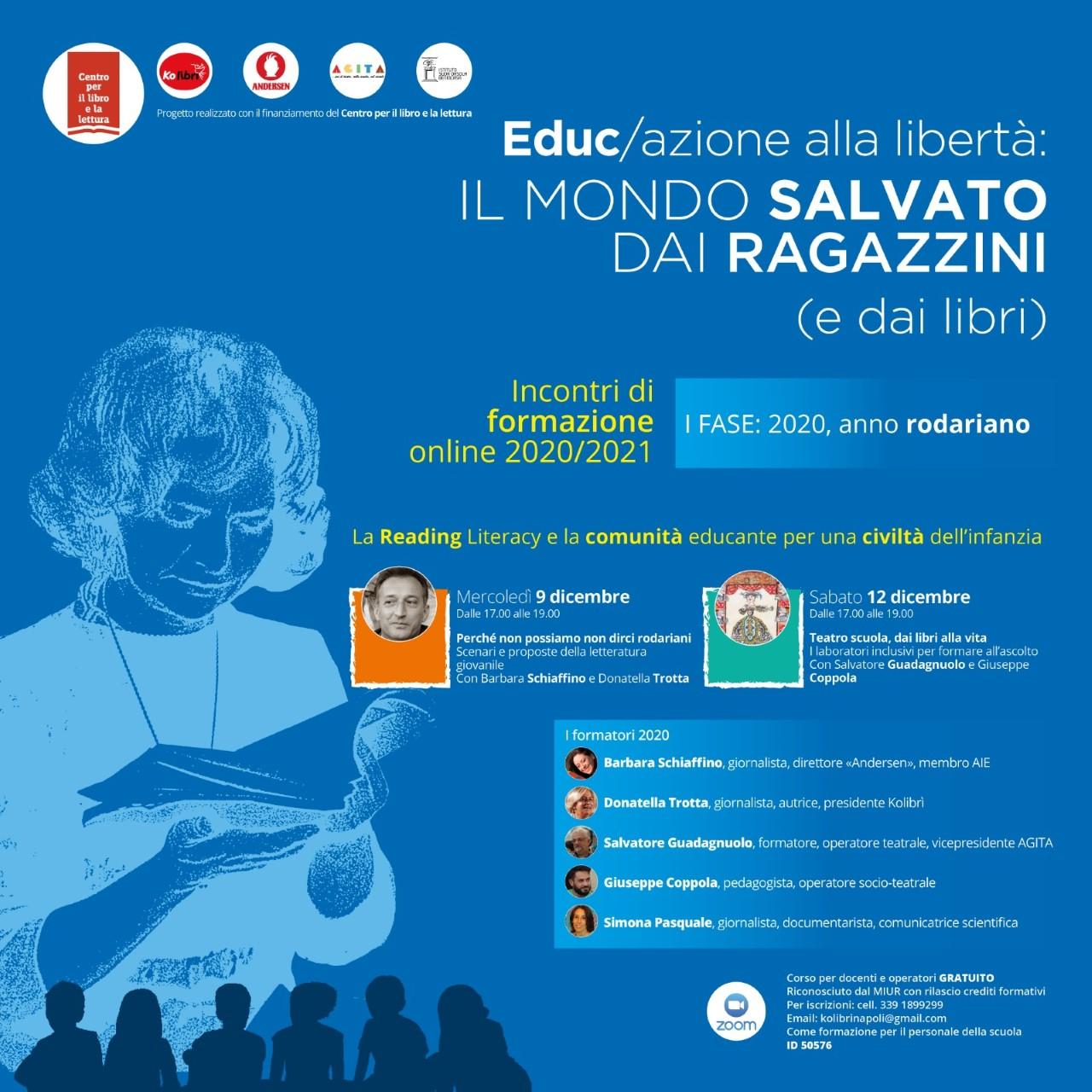 Educ/azione alla libertà: il mondo salvato dai ragazzini (e dai libri)