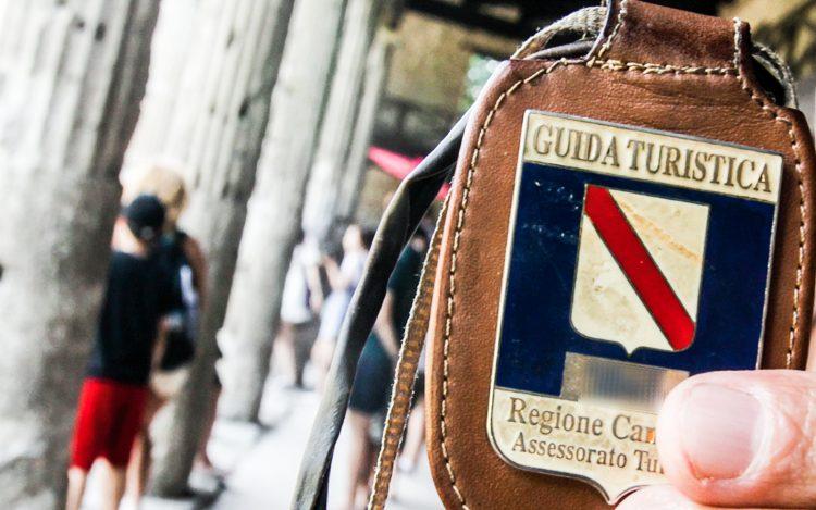 Il grido d'aiuto delle guide turistiche campane: da marzo senza cig