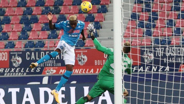 Bologna-Napoli 0-1, al Dall'Ara decide Osimhen