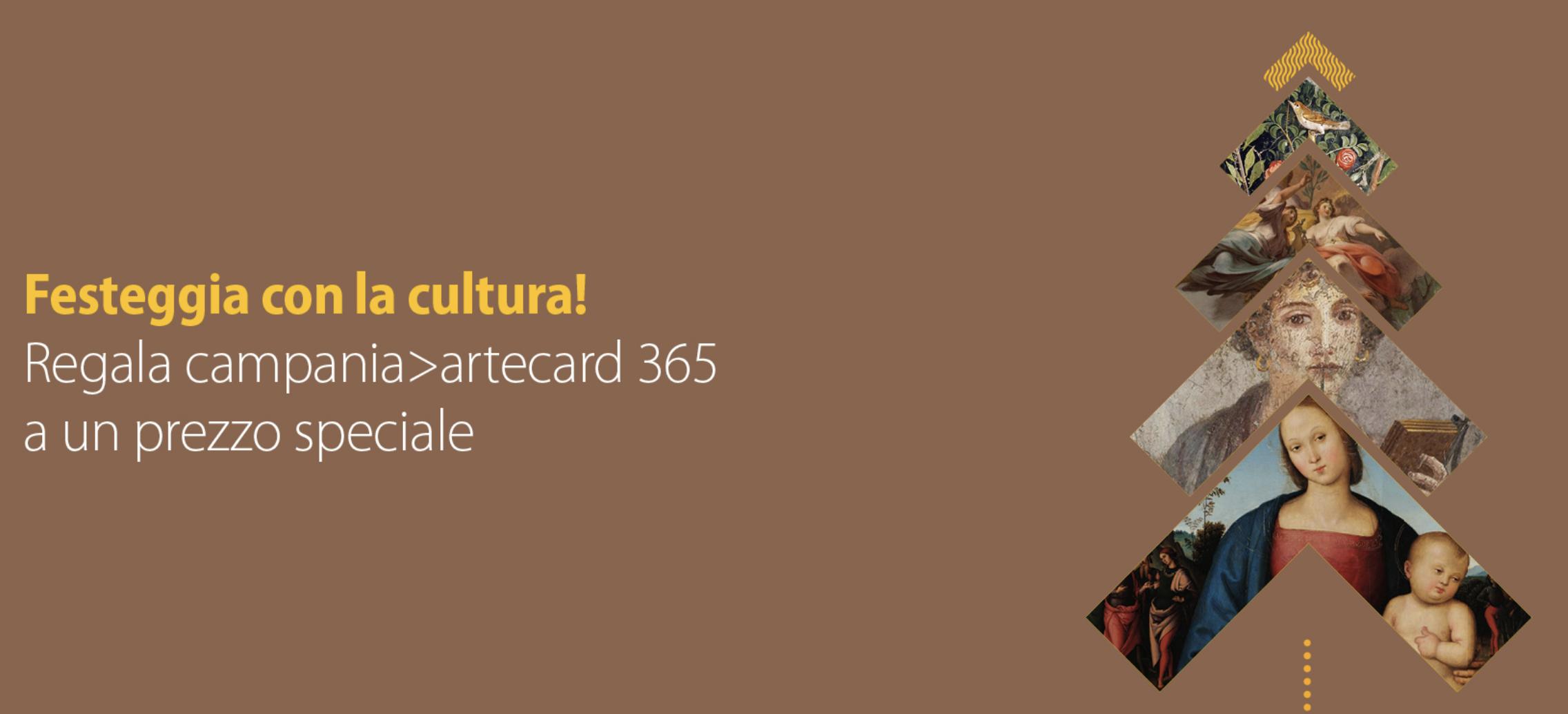 Christmas Artecard - A Natale Regala(ti) oltre 50 ingressi da utilizzare alla riapertura dei musei