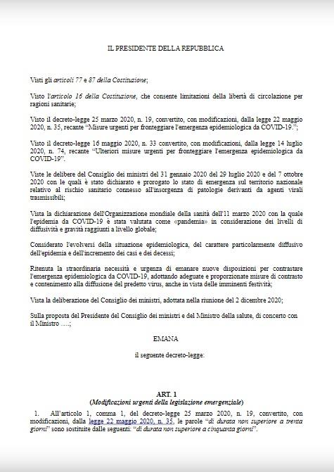 Nuovo Dpcm, oggi la firma di Conte: stop agli spostamenti e coprifuoco - LA BOZZA