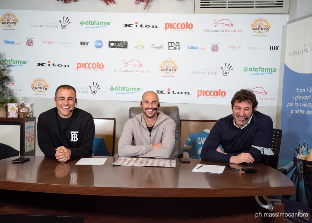 Grande successo per il progetto solidale della Fondazione Cannavaro-Ferrara