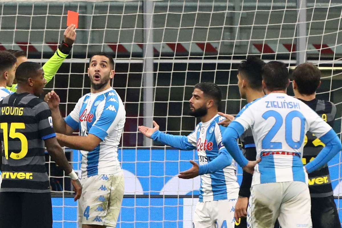 Inter-Napoli 1-0, sconfitta immeritata per gli azzurri