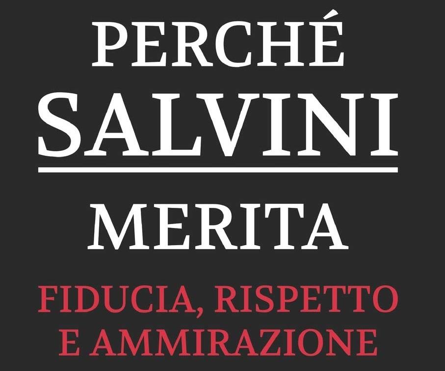 'Perché Salvini merita fiducia', libro da 110 pagine bianche best seller Amazon