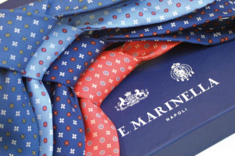 Vende cravatte nonostante la zona rossa, multato e chiuso Marinella
